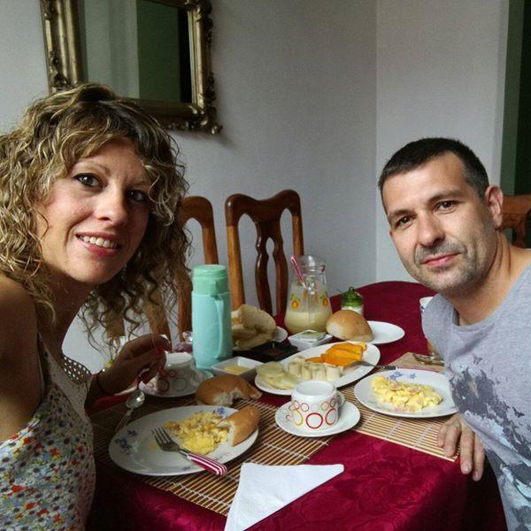 Clientes del Habana Hierbabuena manuela y juanjo