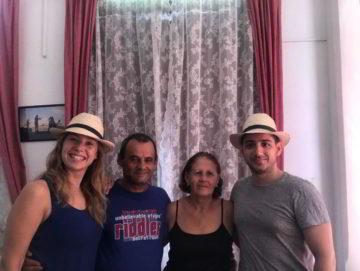 Clientes del Habana Hierbabuena mercedes chaparro