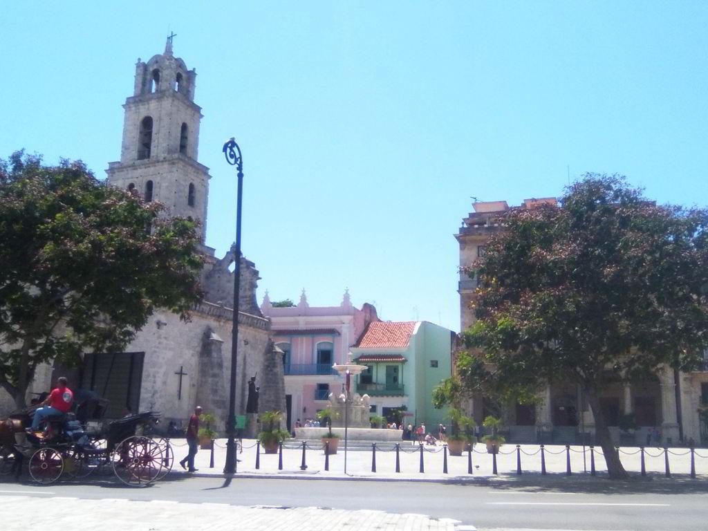 Plaza San Francisco en La Habana