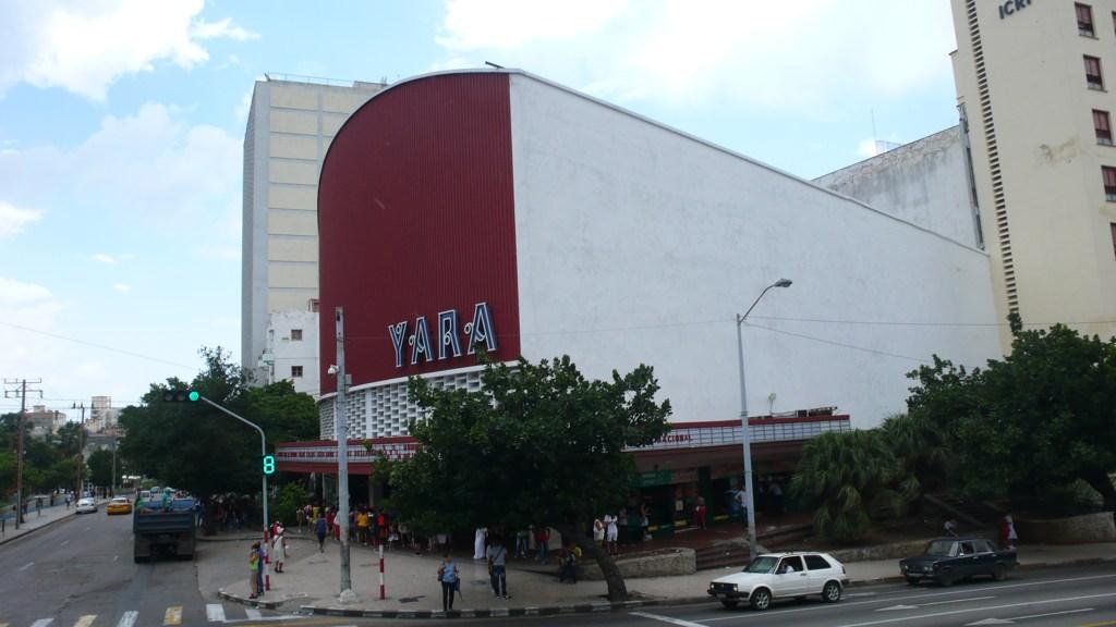 cine Yara en el Vedado en La Habana